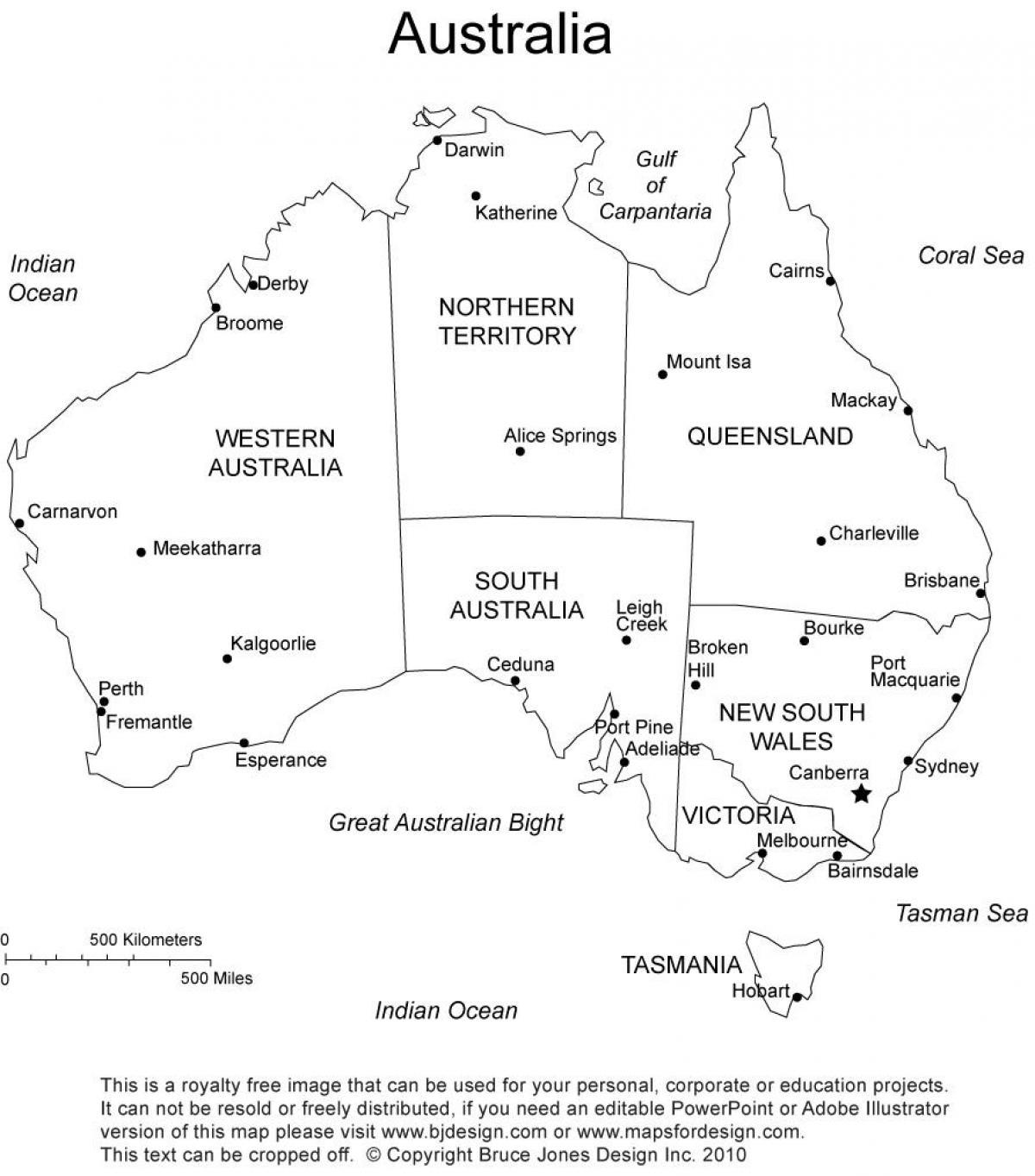 Australia Map Black And White.Australia Black And White Map Map Of Australia Black And White