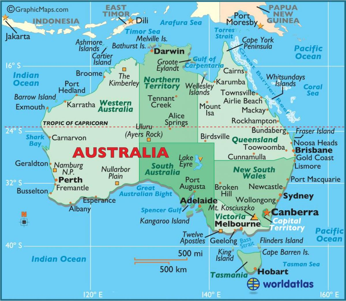 Australian map australia on a map australia and new zealand australia on a map sciox Images
