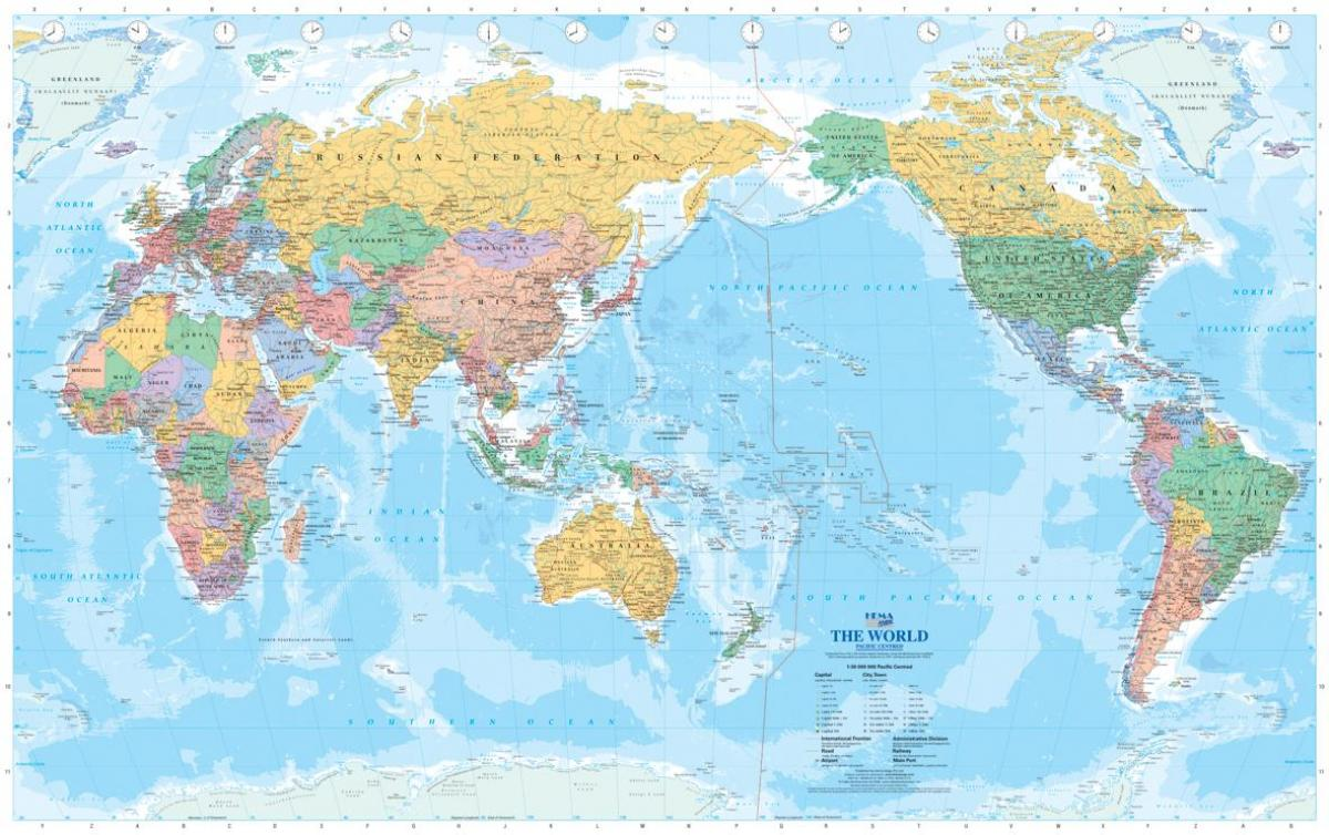 Australian world map australia on world map australia and new australia on world map gumiabroncs Image collections