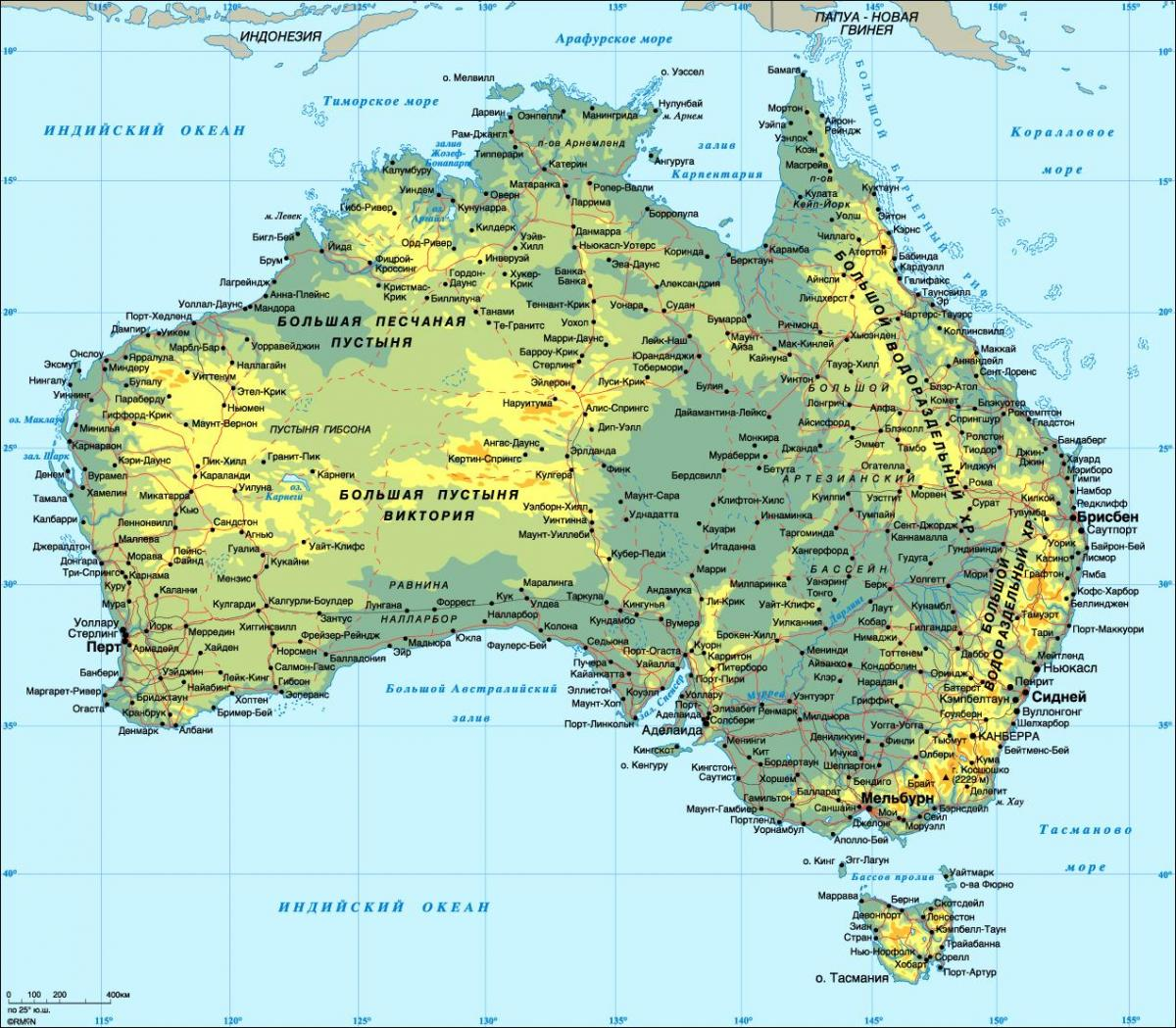 Detailed Map Australia.Detailed Map Of Australia Australia Detailed Map Australia And