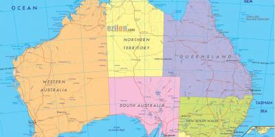 Map Of Australia Hd.Australia Map Maps Australia Australia And New Zealand Oceania